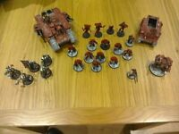 warhammer 40000 blood angels and grey knights £130 ono