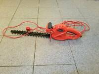 Electric lawn mower strimmer and hedge trimer