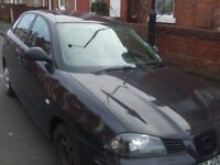 A WELL USED AND SERVICE SEAT IBIZA CAR BY A LADY IS NOW FOR SALES