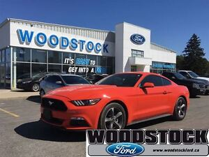 2015 Ford Mustang V6, COMPETITION ORANGE