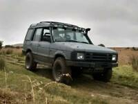 Land rover discovery raptor grey 200 tdi