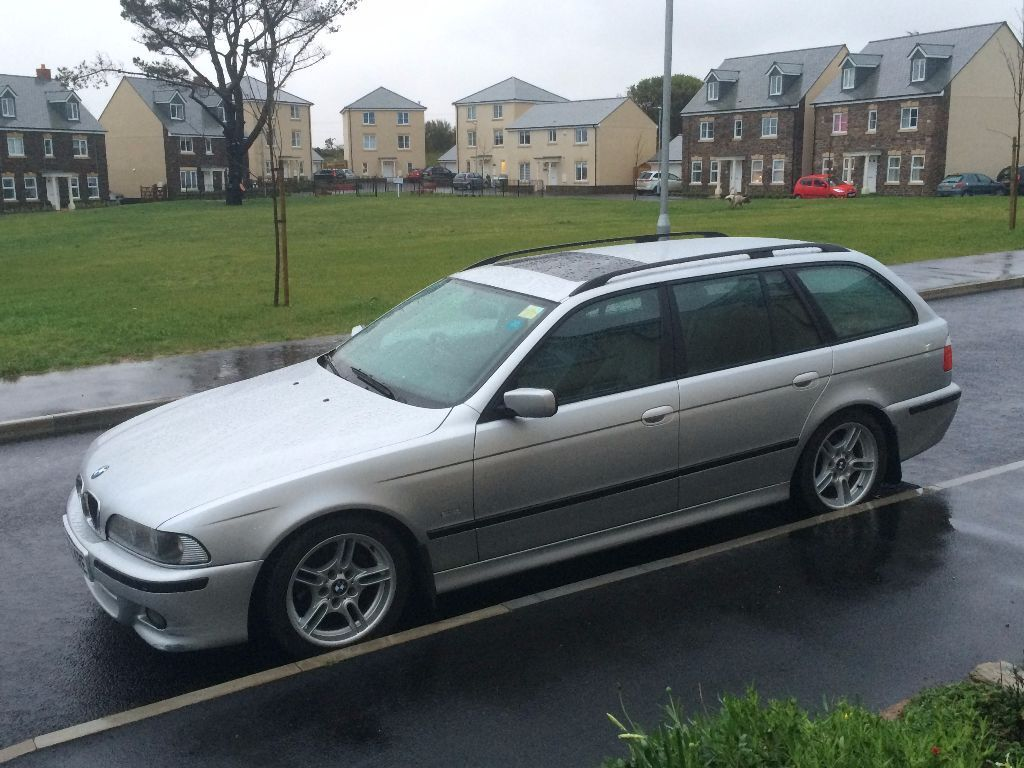bmw 525d sport touring 2003 in truro cornwall gumtree. Black Bedroom Furniture Sets. Home Design Ideas