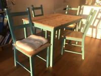 Shabby chic table and chairs-MUST GO BY FRIDAY