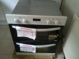 Zanussi under counter double oven. NEW
