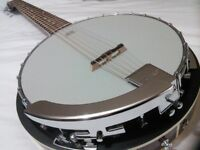 Six string guitar/banjo(electric) including case