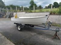 3.2 metre WITH boat and trailer