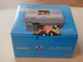 CANNON SELPHY CP780 COMPACT PRINTER FOR SALE