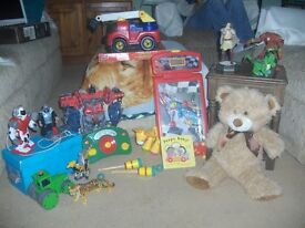 MIXED TOY LOT