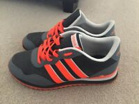 ADIDAS TRAINERS (SIZE 8.5 UK) - GREAT CONDITION