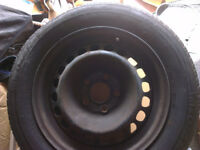 Mercedes Benz C180 (1999 model) Spare Wheel 5 Stud size 15