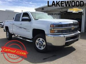 2016 Chevrolet SILVERADO 2500HD LT Crew 4x4 (Tinted Windows, Col