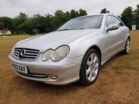 2003 Mercedes-Benz CLK 2.6 CLK240 Elegance with long MOT