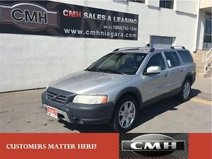 2007 Volvo XC70 2.5T AWD LEATH ROOF *CERTIFIED*
