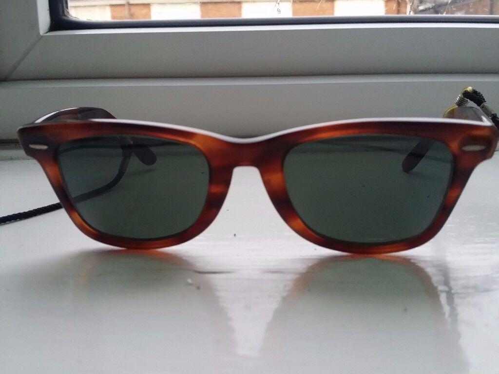 a2bf734ec70 Ray-Ban 100% Original Vintage Wayfarer Sunglasses