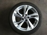 2017 VAUXHALL ASTRA 17 INCH Alloy Wheel and Tyre 225/45R17