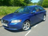2010 VOLVO S40 SE 1.6 D DRIVE*FSH*NEW SHAPE*LEATHER*EL-PACK*CRUISE-C*BLUETOOTH*R.TAX-£20*#V50#FOCUS