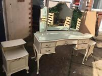 Dressing table and 2 night tables