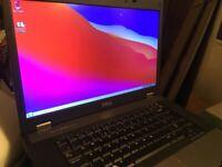 DELL E5510 15.6 inch 120gb SSD hard drive laptop