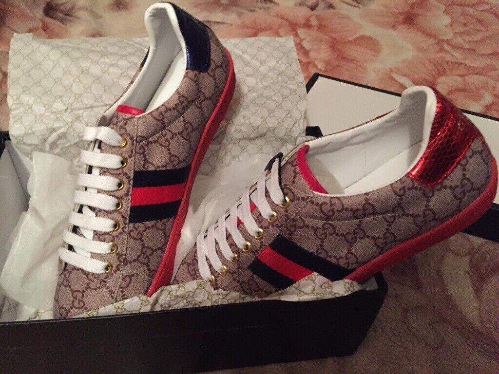 d5aabb05 G-u-c-c-i Trainers Sneakers Fashion Footwear Shoes Men's Women's Boys Girls  Various Size