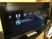 "SONY BRAVIA 37"" HD LCD TV"