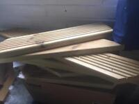Decking wood cut offs various sizes and cuts bulk lot