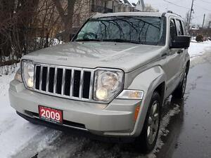 2009 Jeep Liberty Limited Nav,4X4,P.LEATHER HEATED SEATS,P.SUNRO