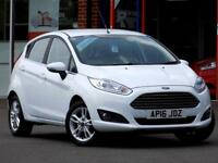 FORD FIESTA 1.6 ZETEC 5dr AUTO ** Lovely Little Auto Only 20k ** (white) 2016