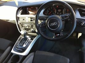Audi A4 2.0 TDI S Line Multitronic 4dr DIESEL ONLY 82000 miles, WHITE, full audi service history