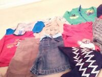 Large quantity of boys clothes