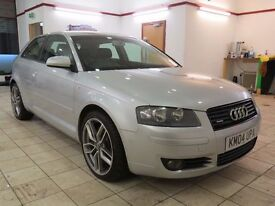 !!QUATTRO!! 2004 AUDI A3 3.2 DSG / FULL SERVICE HISTORY / ONLY 65K MILES / MOT JAN 2018 / MUST SEE