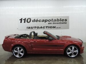 2008 Ford Mustang GT CALIFORNIA SPECIAL DÉCAPOTABLE ROLL BAR