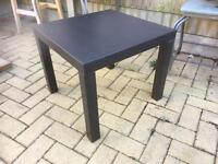 Black IKEA table
