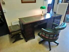 Captains desk and office suite