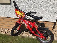 Boys Dawes 12'' Thunder Bike (red)