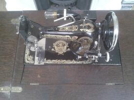 Frister & Rossman Vibrating Shuttle Sewing Machine