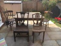 FREE Dining Table and Four Chairs