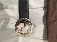 Gucci belt + Burberry belt size 32-36