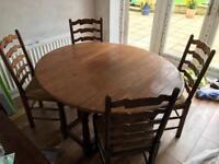 MULTIYORK table & chairs