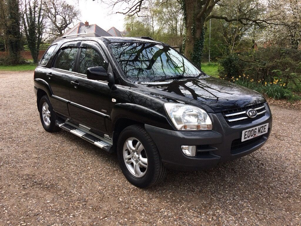 kia sportage xe 2 0 turbo diesel 2006 px in hethersett norfolk gumtree. Black Bedroom Furniture Sets. Home Design Ideas