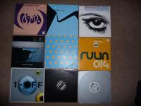 "50 dance records vinyl 12"" House, Trance, Progressive, Classics"