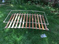 Price reduced - VW type 2 roof rack - two bow - high quality - stainless steel