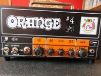 Orange Jim Root #4 Terror Amplifier Head all valve
