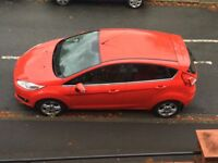 REDUCED PRICE. Full service and MOT until June 2019. Very good condition Ford Fiesta Zetec, 5dr,AC