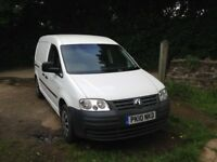 VW CADDY MAXI C20 TDI, TWIN SIDE LOADING DOORS