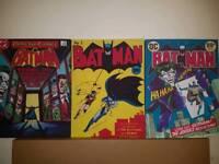 Batman & Superman Canvases