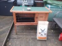 Rabbit hutch with accsesories