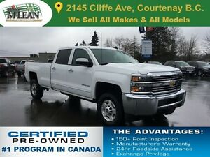 2016 Chevrolet SILVERADO 2500HD LT 6.0L 4x4 Long Box Rear View C