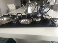12 pieces Silver plated