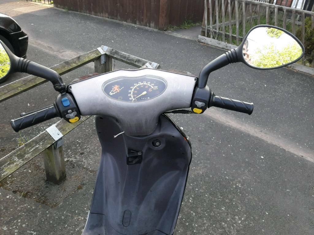 Peugeot 50cc scooter