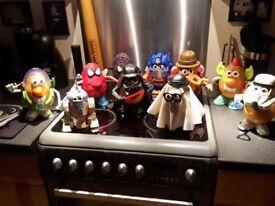 Random Mr Potato Heads. Some rare, no boxes sorry.